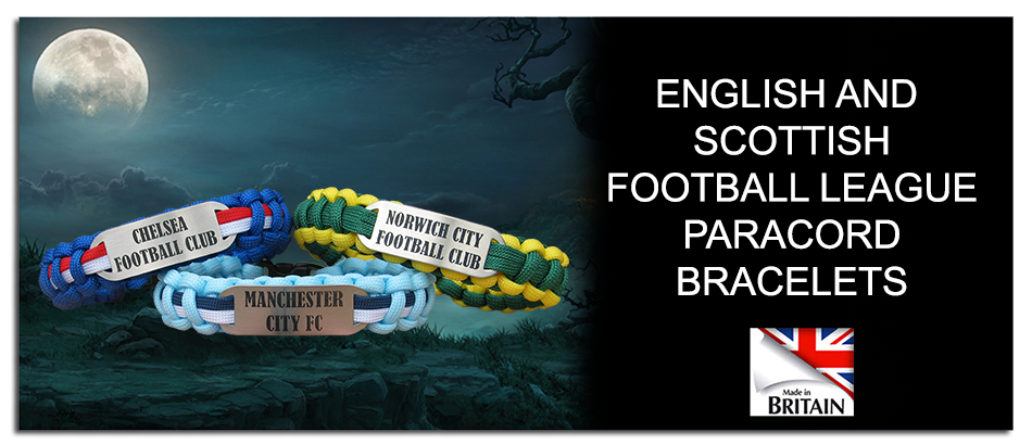 Link to football club paracord bracelets