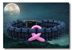 Link to cancer awareness paracord bracelets