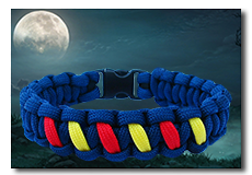 Link to crossover paracord bracelets