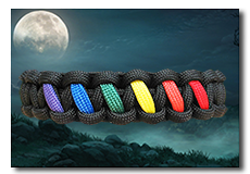 Link to gay pride paracord bracelets