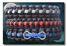 Link to Thin Blue Line paracord bracelets